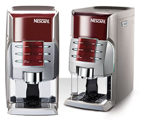 There are 2 different nescafe coffee makers for the breakroom in our stock, and starting as low as $155.99. Nescafe Coffee Vending Machine Prices : Alegria and Milano costs