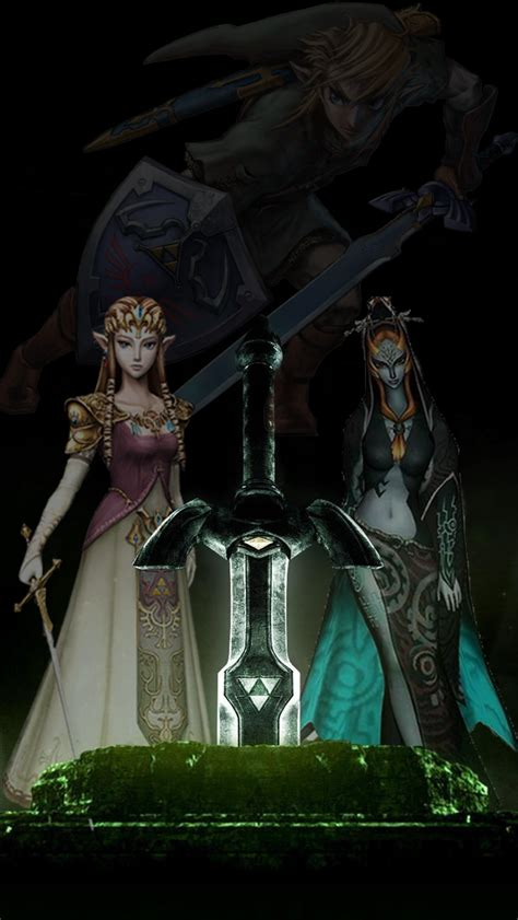 Iphone Wallpaper Zelda Legend Of Zelda Iphone Wallpaper Wallpapersafari