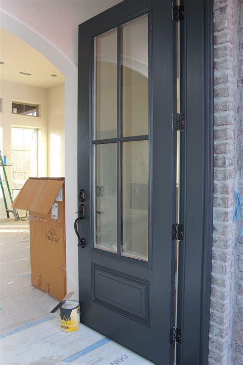 door painted in benjamin wrought iron one of the