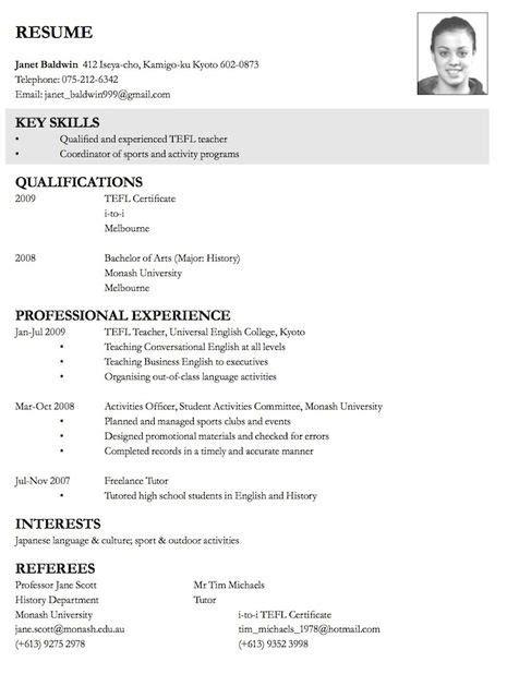 Resume Sles Tips by Cv Exle Cv Business Plan Sle Resume Resume