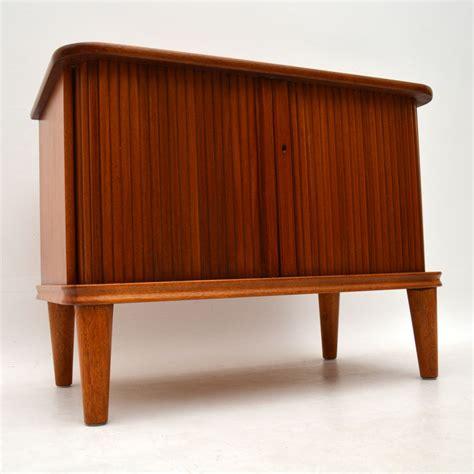 vintage teak tv cabinet retrospective interiors