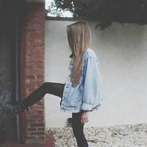 Coat denim jacket tumblr instagram summer clothes oversized jean jacket denim - Wheretoget