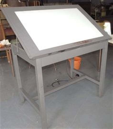 drafting table with lightbox 1000 images about light box tables on pinterest light