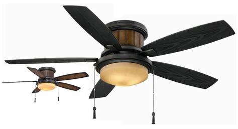 hton bay ceiling fan glass dome hton bay yg216 ni roanoke 48 in indoor outdoor