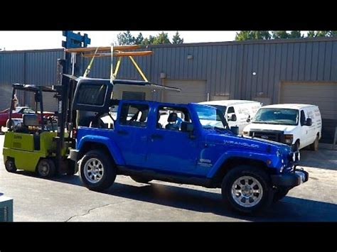 How Install Your Hard Top Jeep Wrangler From Soft