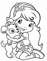 Strawberry Shortcake Coloring Pages Teens Printable Learning sketch template