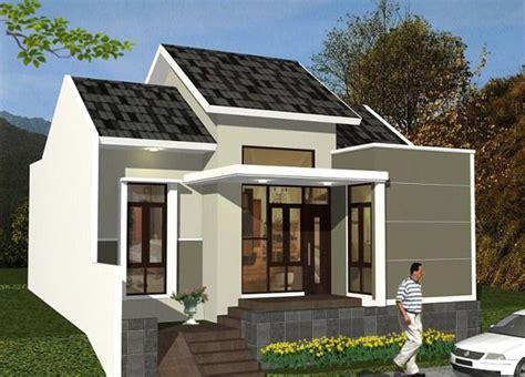 model rumah sederhana cantik  minimalis desain gambar