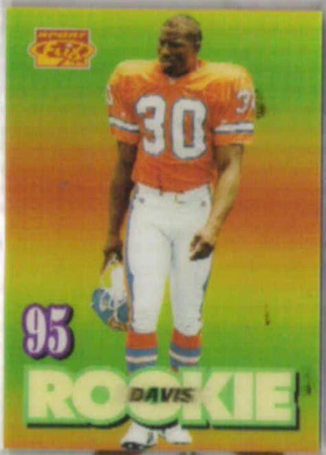 Terrell Davis 1994 Sportflix Rookie 145 Broncos