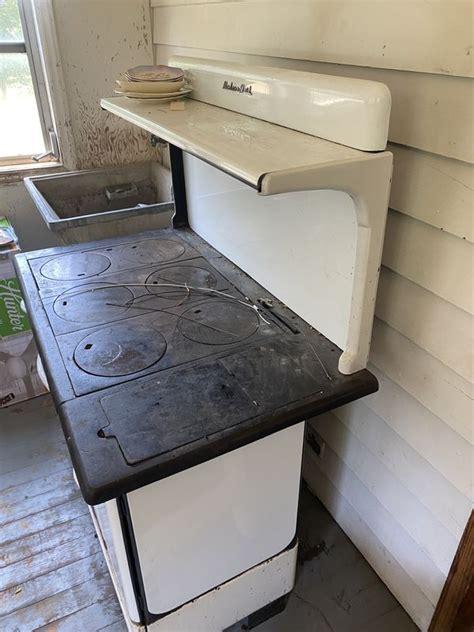 modern maid wood cooking stove  sale  charlotte