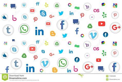 Digital Social Media Wallpaper by Social Media Icon Pattern Background For Wallpaper On
