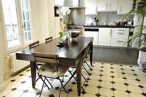 carrelage noir et blanc castorama With carrelage cuisine noir et blanc