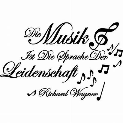 Musik Citation Sticker Wagner Richard Ist Ambiance