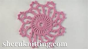 Mini-doily Crochet Flower Pattern