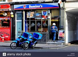 A general view of Domino's Pizza restaurant in central ...