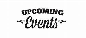 Black Upcoming Events Clipart - The Cliparts