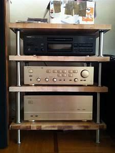 Meuble Hifi Bois : mon meuble hifi diy simpliste le forum audiovintage ~ Voncanada.com Idées de Décoration