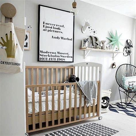 chambre bébé design une chambre bébé blanche design et classique à la fois