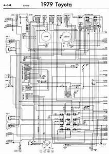 Toyota Corona 1979 Wiring Diagrams