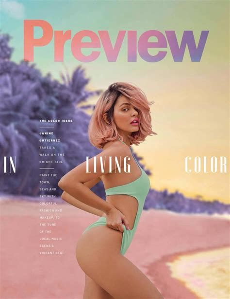 janine gutierrez preview cover janine gutierrez preview march 2018 cover starmometer