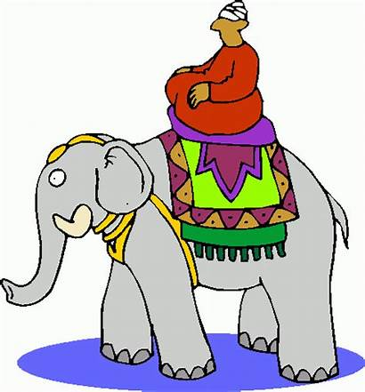 Elephant Indian Clip Clipart India King Cliparts