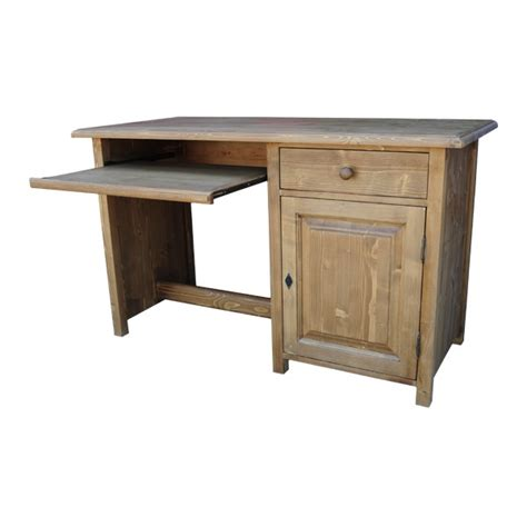 bureau en bois massif idée armoire de bureau en bois massif