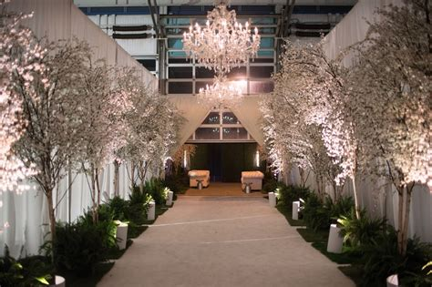 reception d 233 cor photos cherry blossom entrance into reception inside weddings