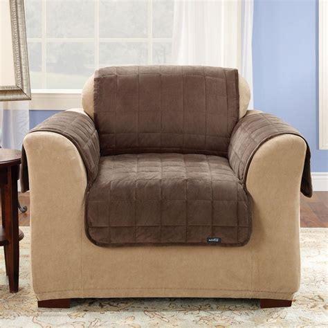 deluxe pet chair throw 26 quot width brown sure fit