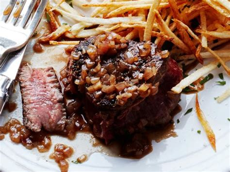 Beef tenderloin has silver skin, which is a thick layer of white (sometimes silvery) connective tissue running along its surface. Filet of Beef au Poivre Recipe | Ina Garten | Food Network
