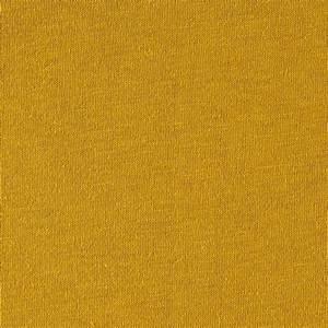 Fabric Merchants Cotton Jersey Solid Yellow Mustard