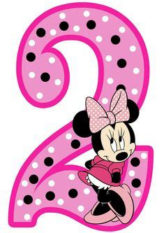 minnie mouse st birthday instant  digital clip