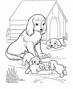 Baby Puppy Coloring Pages - AZ Coloring Pages