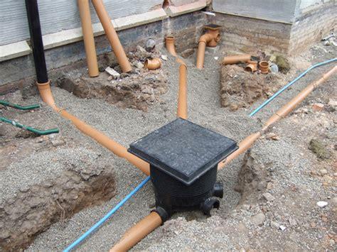 basement drain drainage at sanderson joinery blackpool lancashire