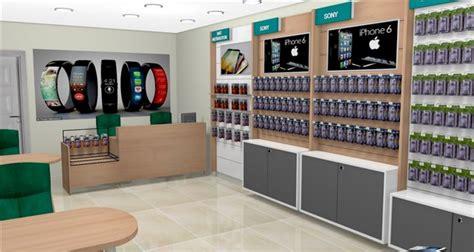 design ideas custom mobile cell phone shop interior design