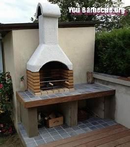 Barbecue En Dur : comment fabriquer un barbecue en dur you ~ Melissatoandfro.com Idées de Décoration