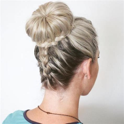 How To Make Upside Down Braided Bun   hairstylegalleries.com