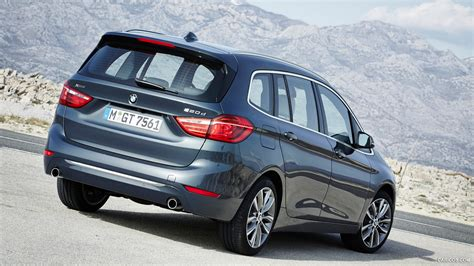 bmw 218 gran tourer 2016 bmw 2 series 220d xdrive gran tourer rear hd wallpaper 218 1920x1080