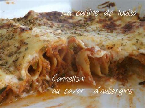 cuisine italienne cannelloni recettes de pates italienne