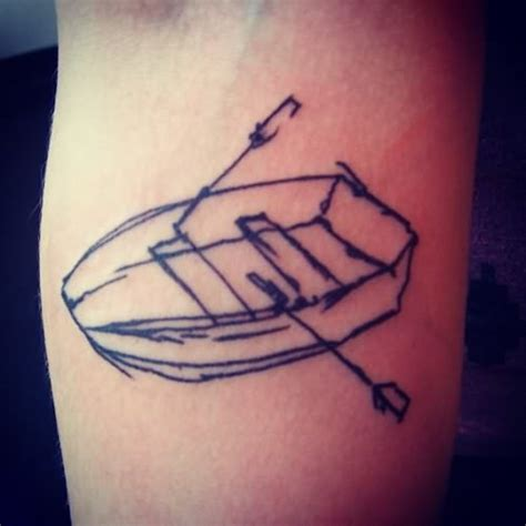 Boat Outline Tattoo by Tumblr Boat Tattoo Outline