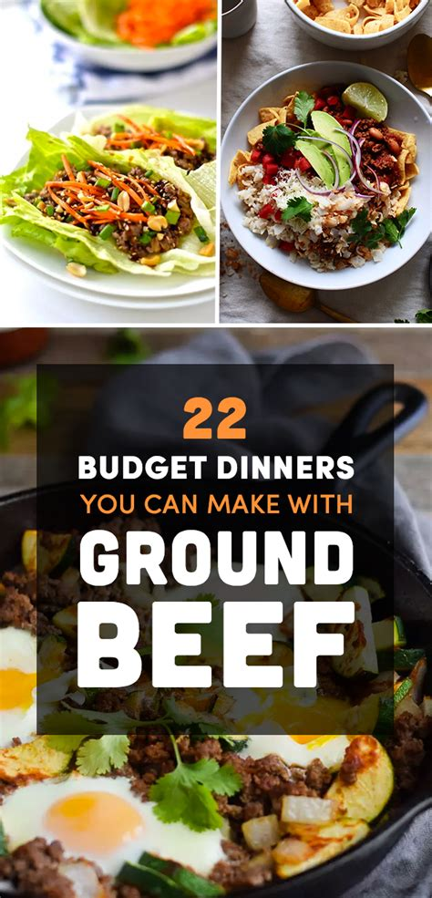 what can you make with ground 28 best dinners you can make with ground beef 25 delicious dinners you can make with ground