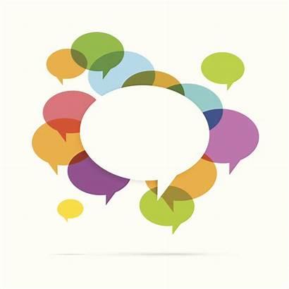 Bubble Speech Colorful Social Text Copyspace Medical