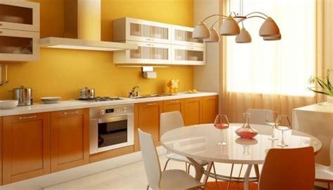 cuisine couleur orange quelle couleur cuisine choisir 55 idées magnifiques