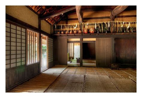 minka farmhouse japanese architecture  interiors