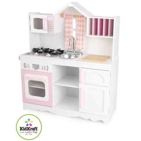 cuisine en bois jouet kidkraft kidkraft nowoczesna kuchnia dla dzieci country 53222