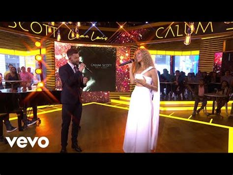 14+ Calum Scott Leona Lewis You Are The Reason Duet Version Live On Good Morning America Gif