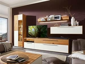 Moderne Möbel Wohnzimmer : moderne wohnzimmerwand wohnland breitwieser ~ Sanjose-hotels-ca.com Haus und Dekorationen