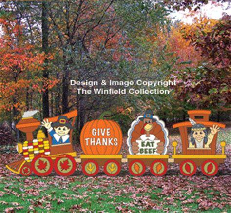 thanksgiving thanksgiving train woodcraft pattern