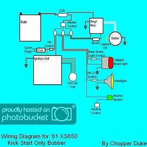 Xs650 Chopper Wire Diagram