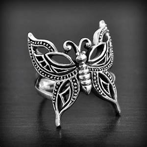 bague papillon ajoure argent excalibur bijoux With bijoux papillon