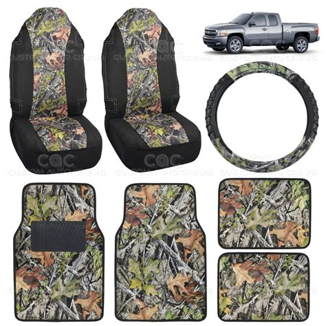 Mossy Oak Camo Floor Mats by Camo Seat Cover Steering Wheel Floor Mat For Silverado