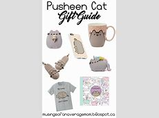 Musings of an Average Mom Pusheen Cat Gift Guide